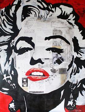 Marilyn Monroe Fascinatie van Kathleen Artist Fine Art