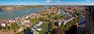 Altstadt Dordrecht von Grote Kerk gesehen