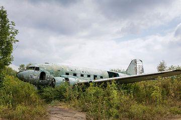Verlassenes Militärflugzeugwrack Dakota von Ger Beekes