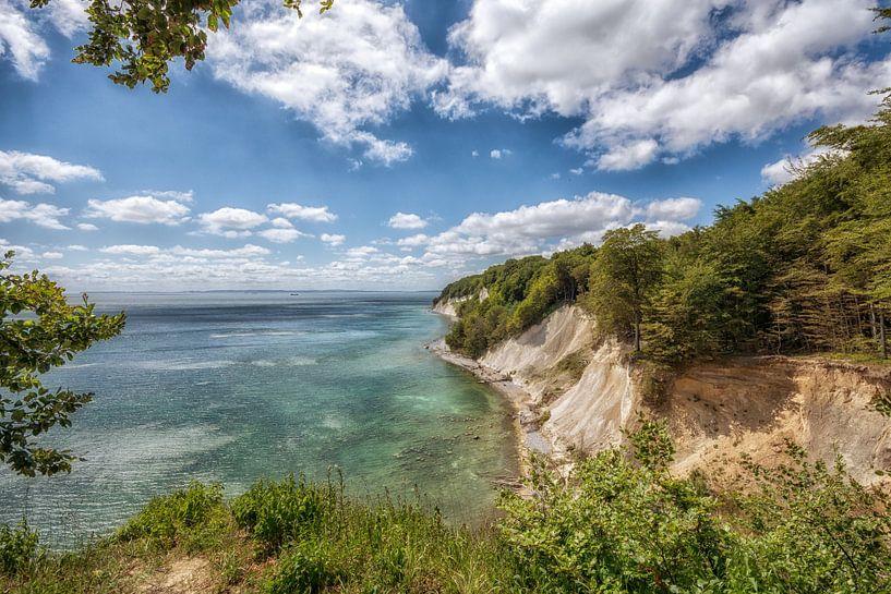 Kreidefelsen Kreideküste Insel Rügen von Mirko Boy