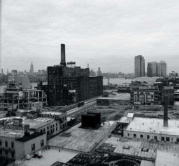 'Industrie terrein', Brooklyn- New York  van Martine Joanne