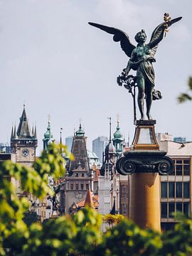 Prague Old Town Skyline van