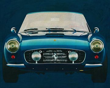 Ferrari 250 GT SWB Berlinetta 1957 voorzijde