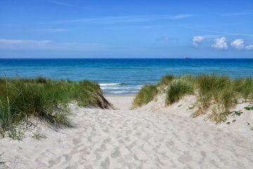 Strandzugang Ostsee von Joachim G. Pinkawa