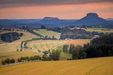 Adamsberg Sächsische Schweiz van Antwan Janssen