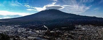 fuji-panorama van Stefan Havadi-Nagy