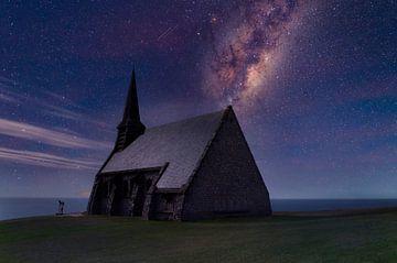 Galaxie über der Normandie von Dennis Carette