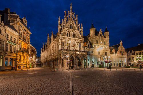 Stadhuis Mechelen von Bert Beckers