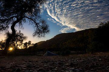Kamperen in de outback van