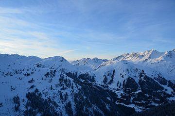 Alpen vanuit de Lucht