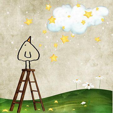 Les étoiles tombent - bip sur Marion Tenbergen