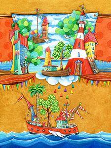 Scheepvaart - Kunst voor Kinderen van
