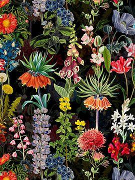 Mitternachts Frühlings Wiese von Uta Naumann