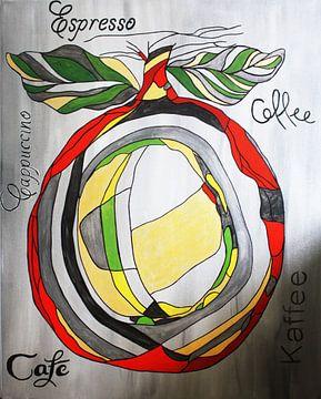 Espresso koffie van Kathleen Artist Fine Art