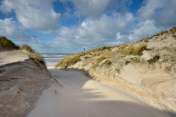 Strandopgang ander aangezicht van Martin Jansen