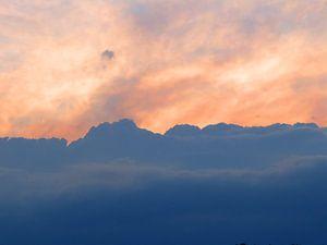 Wolken (Wolken am Abendhimmel)