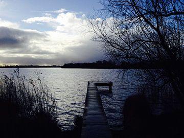 Steiger aan het meer van Mariët Visser