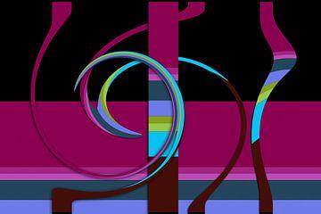 Tanz der Farben van Dagmar Marina
