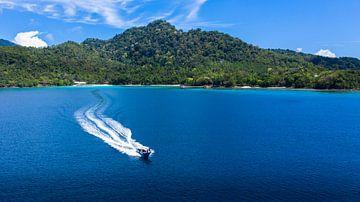 Hausboot Indonesien von Marco Vet