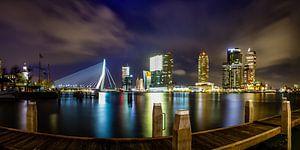 Rotterdam Panorama van Evert Buitendijk