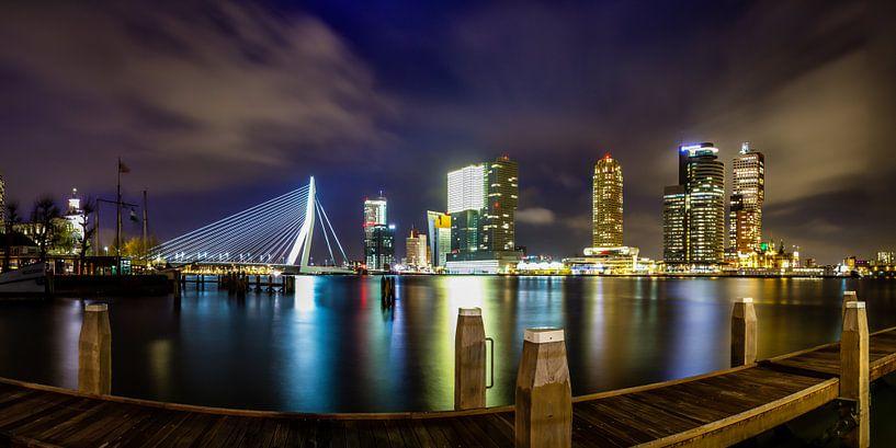 Rotterdam Panorama von Evert Buitendijk