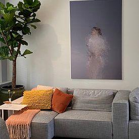 Kundenfoto: Abstraktes Porträt von Carla Van Iersel, als akustikbild