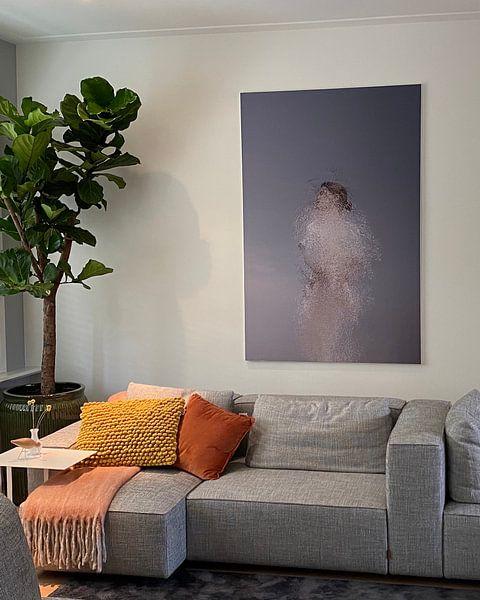 Klantfoto: Abstract portret van Carla Van Iersel