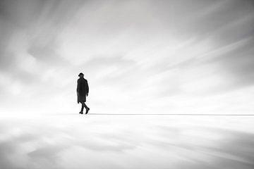 Marcher vers l'horizon
