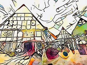 Kandinsky rencontre Bad Salzuflen #2 sur zam art