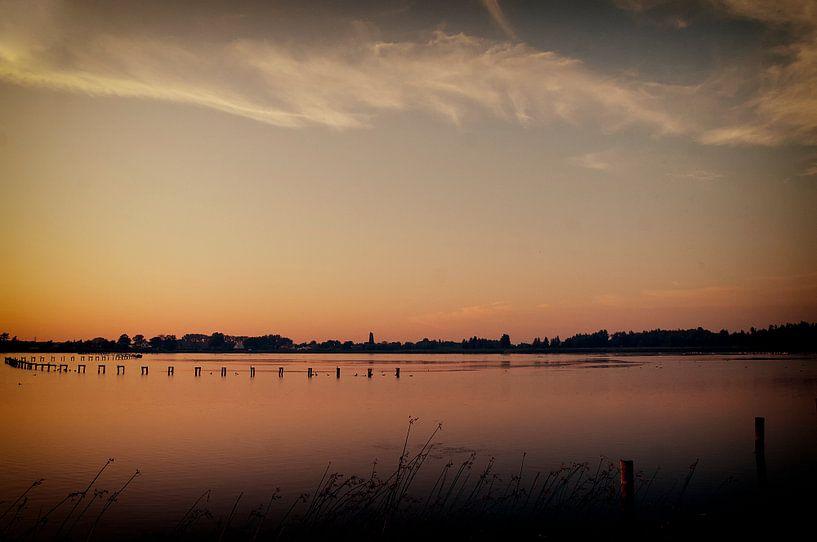 Zonsondergang #1 van Cristel Brouwer