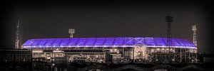 Feyenoord Stadion 26 (Sepia) van