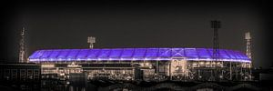 Feyenoord Stadion 26 (Sepia)