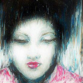 Liu de jonge Japanse Geisha. van Ineke de Rijk