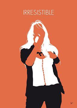 No293 MY Jessica simpson Minimal Music poster van Chungkong Art