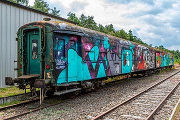 Station van As, trein van Elma Mud
