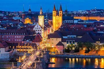 Een avond in Würzburg