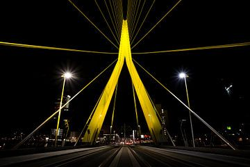 Erasmusbrug, Rotterdam von Martijn Smeets