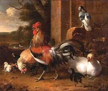 Hoenderhof, Melchior d'Hondecoeter van