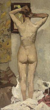 George Hendrik Breitner. Standing nude