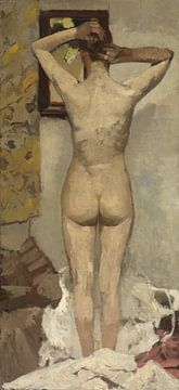 Stehend nackt - George Hendrik Breitner