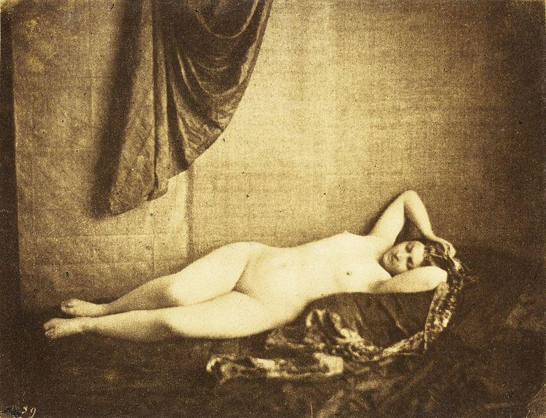 Vintage Pinup Aktfotografie von 1854 von Atelier Liesjes