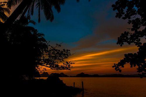 Zonsondergang, golden sunset