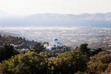 Griechische Kirche auf dem Berg von Sharon de Groot