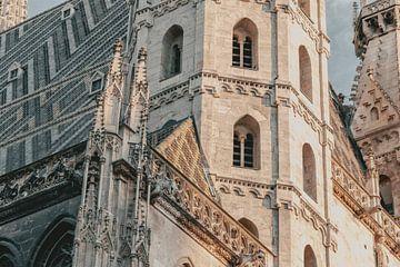 Stephansdom in Wenen van Sophia Eerden