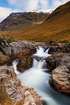 Petite chute d'eau en Écosse sur Daniela Beyer