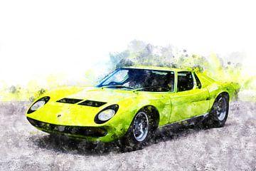 Lamborghini Miura van Theodor Decker