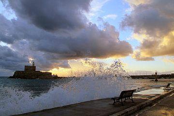 Stormy morning! van Silvia van Zutphen