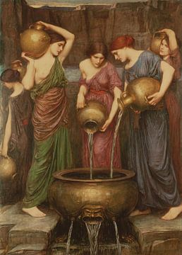 Die Danaiden, John William Waterhouse