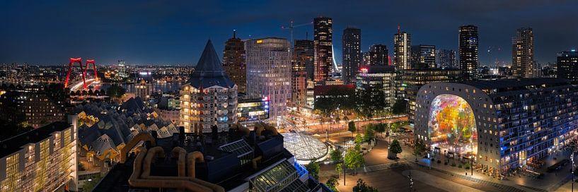 Rotterdam Skyline Panorama van Jeroen Lagerwerf