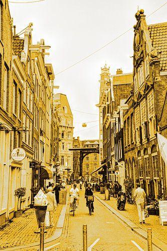 Zuiderkerk Binnenstad van Amsterdam Nederland Goud